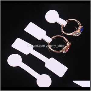 Square Round Paper Tags For Ring Necklace Bracelet Tag Display Label W9N93 Card Eqk5L
