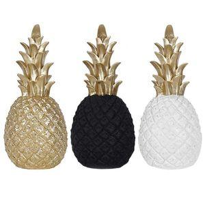 Nordique moderne ananas ornements salon bureau de bureau artisanat décor cadeau cadeau objets décoratifs figurines