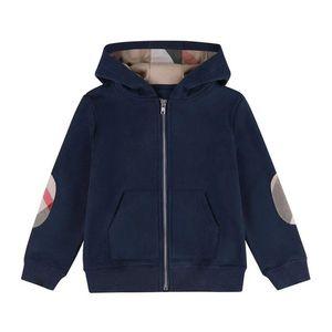 2021 Весна Осень Осень Мальчики Куртки Детские Хлопковые молния Пальто Детский Капюшон Куртка Мальчик Пиджака Ребенок Повседневная Кардиган Пальто