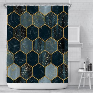 New curtain creative digital printing curtain waterproof polyester bathroom curtain sunshade shower curtains customization wholesale OOD5460