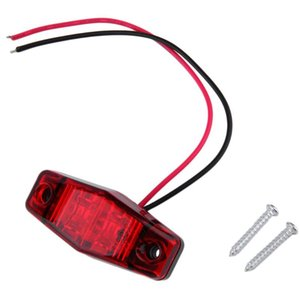 Car Headlights 1 Pc LED Trailer Truck 2 Diode 1x2.5 Surface Clearance Side Marker Light Submersible Width Lamp Styling