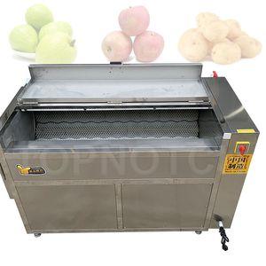 Fruit Taro Onion Cassava Ginger Washers Vegetable Potato Peelinging Machine