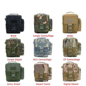 Military Army Tactical bags Molle Utility Waist Pouch EDC Tool Phone Pack Hunting Bag With Shoulder Strap