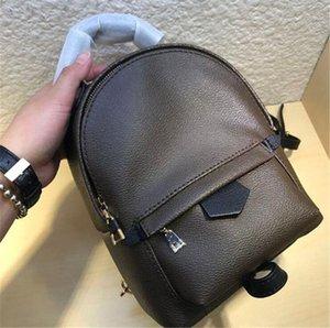 Top quality Backpack lady Genuine Leather bags designer luxury fashion back pack fow women handbags Presbyopic Mini shoulder School Purse Cross body bag