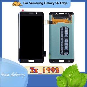 """Handy Touch Panels 5.1 """"Original für Samsung Galaxy S6 Rand G9250 G925V G925A G925F G925K G925L LCD-Display-Bildschirm-Digitizer-Montage"""