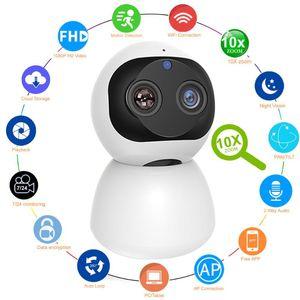Cameras HD 1080P Indoor WiFi Camera Smart Home Security Surveillance IP CCTV 360 PTZ Monitor Baby   Pet Nanny Elder Wi Fi Cam