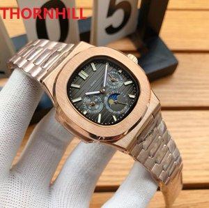최고 품질의 사각형 디자이너 럭셔리 시계 316L 스테인레스 스틸 밴드 자동 자체 와인딩 기계 시계 날짜 표시 이동 방수 손목 시계