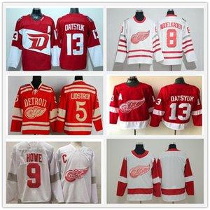 Retro retro Detroit Wings Red Wings Jersey Hockey Dylan Larkin Pavel Datsyuk Steve Yzerman Sergei Fedorov Bertuzzi Anthony Mantha Gordie Howe