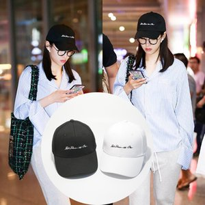 02CO CANAL QIAN'S Summer Sun Hat, Rose Coréenne Baseball Couple Cap, Star