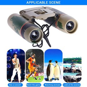 Camcorders Telescope Kids Toys Binoculars 30x60 Sakura Camouflage Coating Portable Optical HD Outdoor Waterproof