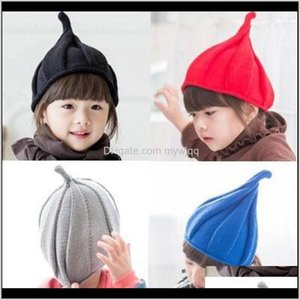 8 Colors Children Hat Christmas 13Y Baby Girls Boy Autumn Winter Kids Knitted Hats Cap Tide Shall Windmill 2021 Arrivals1 Icdoe Hair A Ykcpe