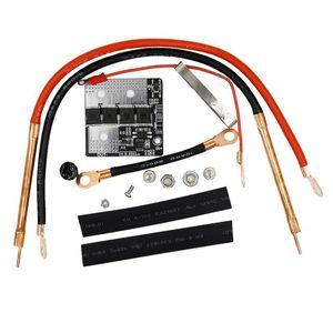5-5.6V PORTABLE Farah Spot Soudder Machine 2.8V + 2.8V DIY Soudage Panneau de commande de la batterie pour 0,15 Cas de téléphone cellulaire à feuille de nickel