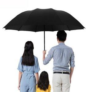 Umbrellas Big Umbrella Male Rain Women's Folding Windproof Sun For Female Parasol Paraguas With 130cm In Diameter