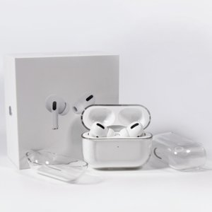 Para Airpods Pro Protective Cover Apple Airpod 3 Bluetooth Headset definido Transparente PC Hard Shell Clear Protizer