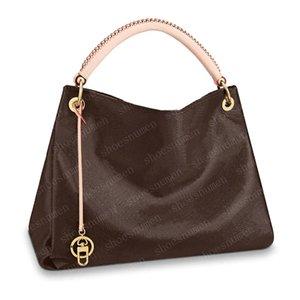 Totes bolsas bolsas de ombro mochila mulheres bolsas de couro marrom embreagem de embreagem carteira tamanho grande tamanho gm 41/32 / 22cm 40249 # AE02