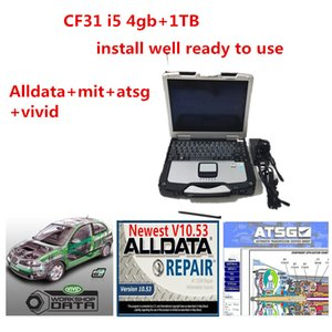 Toughbook CF31 Laptop I5 CPU 4GB RAM com 1TB HDD Alldata Soft-Ware Mit ... Ell Vivid Workshop ATSG Instale bem