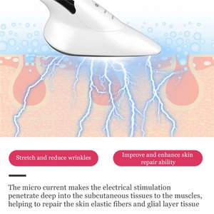 CkeyiN Microcurrent Skin Iron Vibration Massager Heat Ion Face Lifting Facial Neck Body Chin V-line Up Skin Tightening Beauty 51