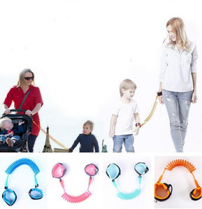 Child Anti Lost Strap Home Kids Safety Wristband Leashes Wrist Link Band Baby Toddler Harness Leash Rope Adjustable Braclet 1.5-2.5m