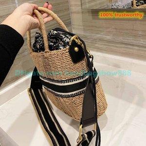 Sommer strand straw designer totes tasche casual rattan frauen handtasche wicker gewebt weibliche weibliche große kapazität dame eimer taschen reisen handtaschen große größe
