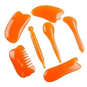 Китайский Gua Sha Scraping Massage инструменты набор набор ручной работы Guasha скребка для физического массажера полного тела