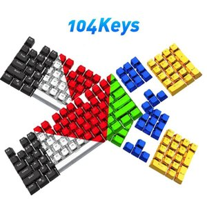 104Pcs Set ABS Stylish Backlight Key Caps Replacement For Mechanical Keyboards Keycaps Cap