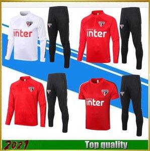 2021 Sao paulo ensemble de football costumes d'entraînement veste 20/21 DANI ALVES survêtement de football de jogging de qualité supérieure