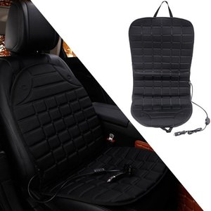 Winter Heated Seat Cover For Cars - Universal 12V Car Cushion With Dual Temperature Settings & Switch Cushions