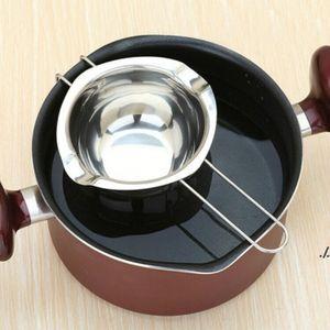 Revstainless Steel Шоколадная плавка Pans Двойная котельная Молоконое Чашение Масло Конфеты Тепловые Техщики Выпечки Инструменты EWB7047