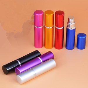 10ml Pump Wholesale 10cc Perfume Bottles Refillable Atomizer Spray Empty Plain Parfums Aluminum Glass Scent Bottle