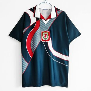 1994 Wales retro melville soccer jersey 1995 1996 RUSH Giggs Hughes Saunders Boden Speed vintage classic HOME AWAY football shirtS THAILAND