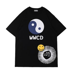 2021 primavera verano este estilo chino moda monopatín hombres camiseta ropa ropa casual algodón camiseta camiseta