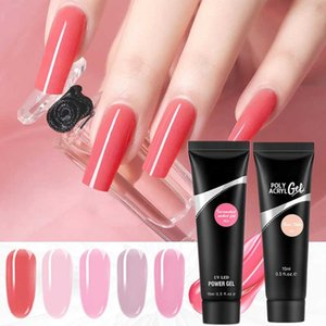 Nail Gel Poly Acrylic Extension Builder For Semi Permanent Crystal Hybrid Varnishes Quick Art Design