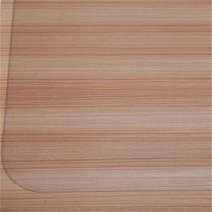 US stock PVC Dull Polish Chairmat Carpets Decorative Cushion Protection Floor Mat 90x120x0.15cm Rectangular Transparent Protect flooring Avoid scratching