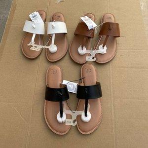 Flip FLOP2021 Summer Clip Toe Back Space Fashion Simple Slips's Slipper US6-11 S