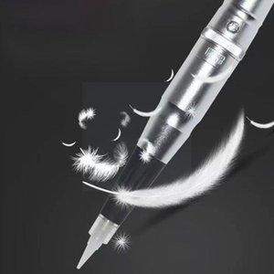 Tattoo Guns Kits Needles Traditonal Microblading Pen For Eyebrow Two Kinds Lips Makeup Of Eyeliner Semi-permanent Plugs And M4j0