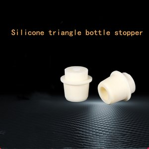 10pcs set Lab Supplies Laboratory Equipment Glass Triangle Flask Silica Gel Plug Specification Is Complete