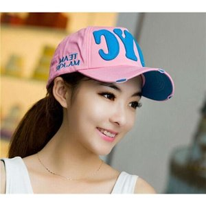 ball caps Korean baseball hat men's and women's fashion leisure outdoor sun hat NYC duck tongue hat spring and summer
