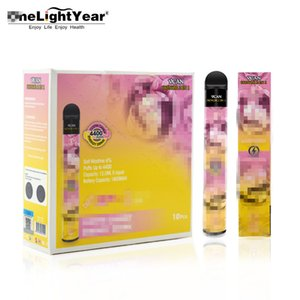 Crazy selling original authentic wholesale 10 colors 2 in 1 vcan honor 4400 vape pen flow shine double one light year from jacky