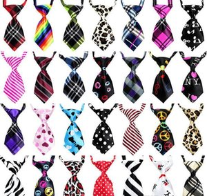 Adjustable Pet Necktie Dog Tie Cat Ties Lovely Adorable Grooming Silk Neckties