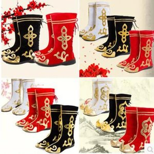 WZPLZJ 11 Color Dance shoes Kid Children Students Femal Women Men Chinese Ancient Mascot Costume Traditional Dynasty Official Stage Performance Party Folk