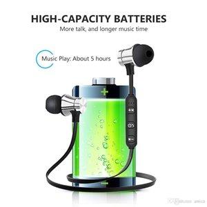 Шумоподавление магнитных беспроводных наушников в утра наушники-гарнитуры MIC V5.0 Наушники Bluetooth для IP8 8S MAX Samsung в розничной коробке