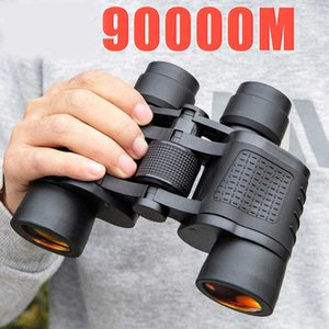 Binoculars 80X80 Long Range 90000m HD High Power Telescope Optical Glass Lens Low Light Night Vision for Hunting Sports Scope