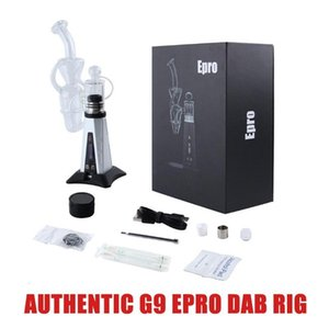 Authentic Greenlightvapes G9 Epro Dab Rig Kit 3000mAh Battery Concentrate Vaporizer Wax Device Vape Kits With Tempearture Control IN STOCK