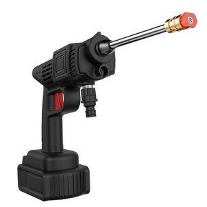 Rondelle haute pression eau pistolet électrique portable électrique voiture sans fil nettoyant nettoyant sprinkler nettoyage pulvérisation de neige mousse lance