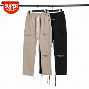 Fog Fear of God 3M reflective drawstring overalls trousers Street beauty casual pants for men and women #Md04