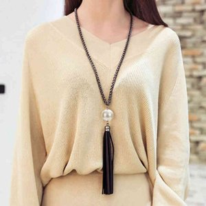 Summary 2019 New Collection Tassel Hanger Trui Long Claws Chain Fashion Jewelry Gift for Women