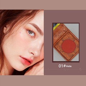Blush Face Blusher Powder Rouge Makeup Cheek Minerals Palettes Brush Palette Cream Natural For Girl Gift