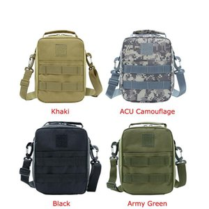 Molle Military Tactical Shoulder Bag Messenger Bags Fanny Belt sac militaire Camping Outdoor Hunting Army