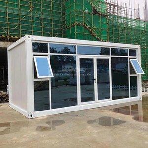 Запчасти крошечный камерный складной стальной пластинчатый дом инженерные мастерские открытый солнечный свет