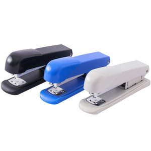 Plastic Binders Color Stapler Solid Office Stationery Staplers School Student Supplies Accessories Small Portable Paper Clip Binding Binder Book ZXFTL0865